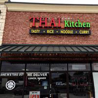 exterior of Thai Kitchen in The Colony, TX