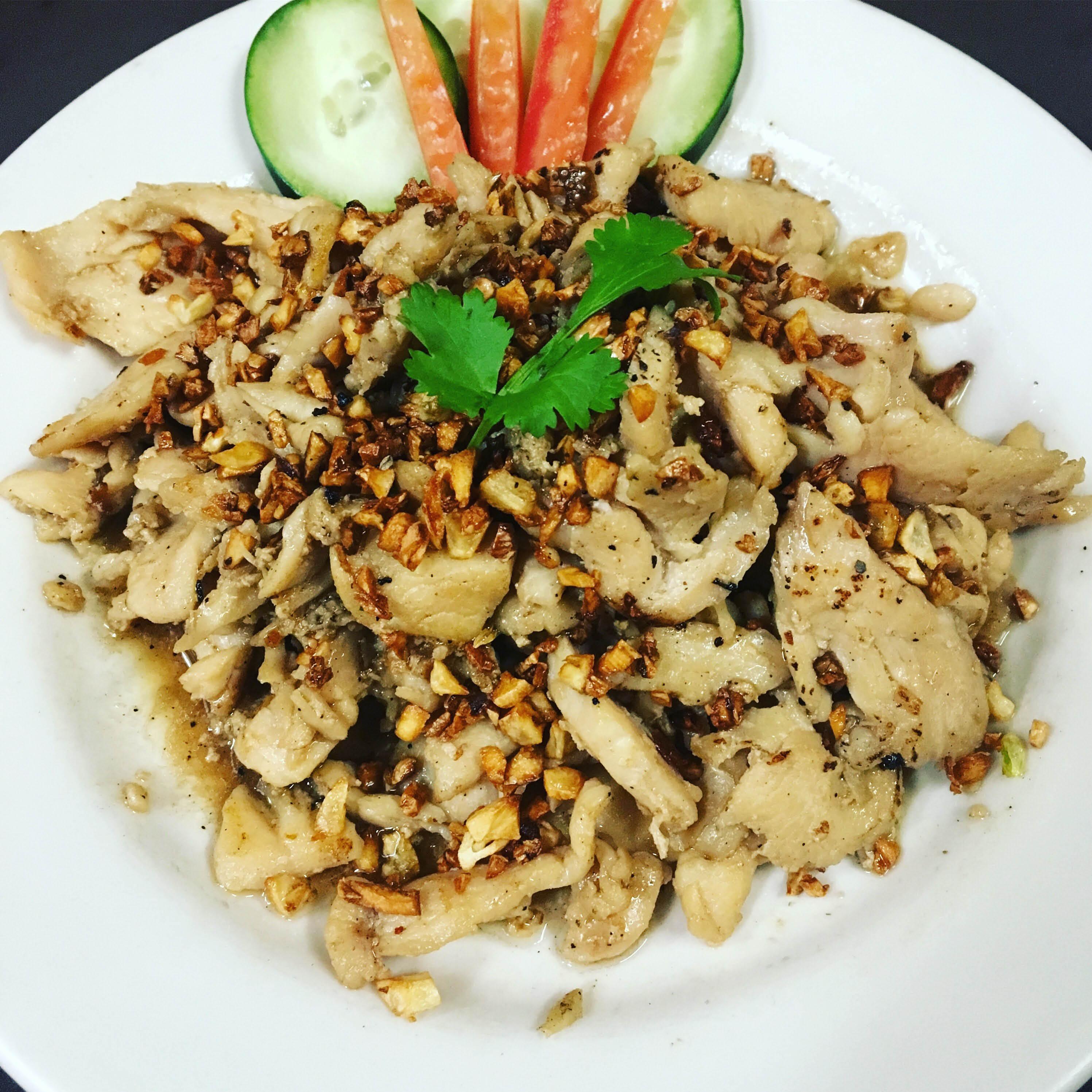 thai wijit chicken rice