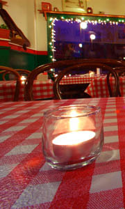interior table view at That's A Some Italian Ristorante