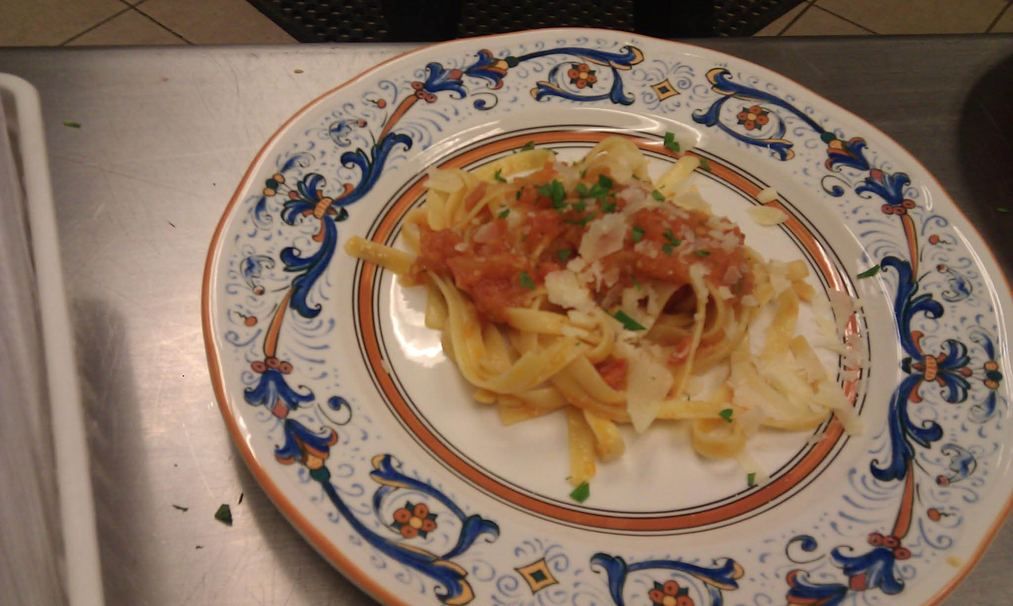 The Glen Cafe Dinner serves Pasta to the residents of Shorewood, WI.