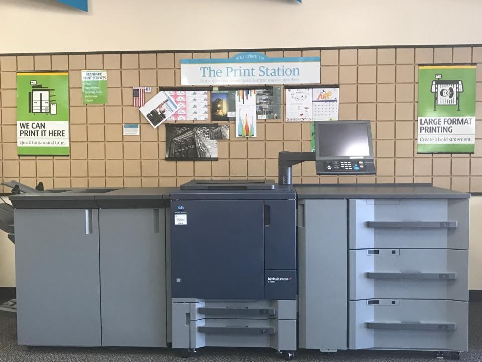 The UPS Store print station