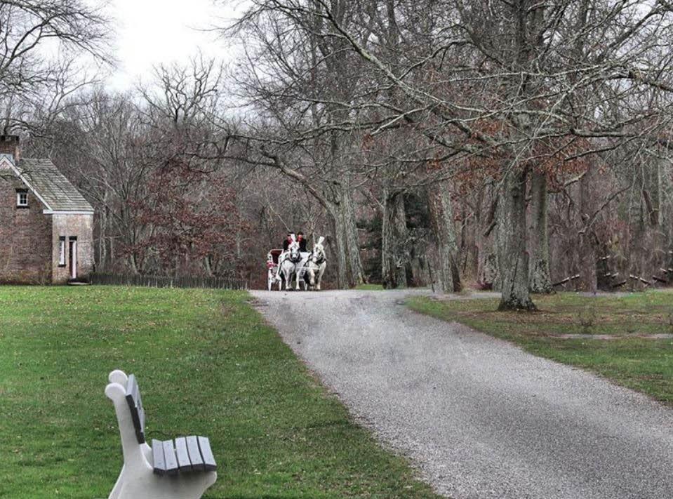 park, village, historic