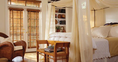wooden shutters from the blind store