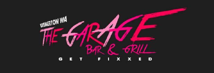 The Garage Bar & Grill in Bremerton, WA banner