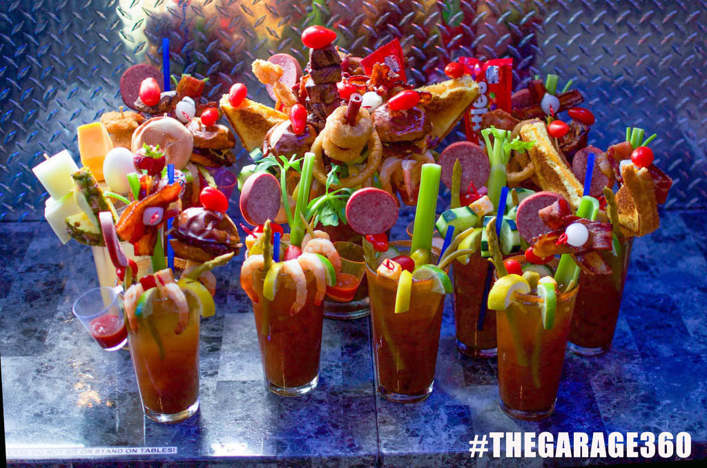 The best bloody mary menu - get 'fixxed' at the garage and see for yourself