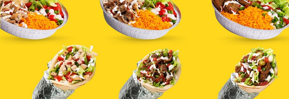 The Halal Guys banner Arlington, Dallas & Richardson, TX