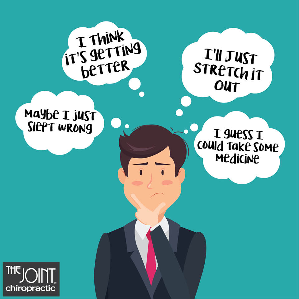 Things you tell yourself when in pain