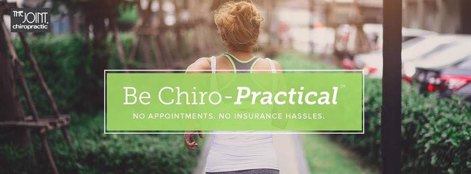 Be chiro-practical, no appointments necessary