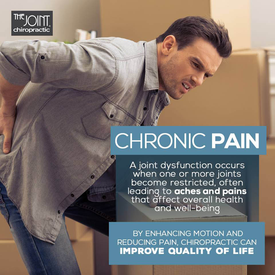 Man experiencing chronic pain