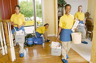 house cleaning professionals at The Maids in Santa Maria, CA; maid service
