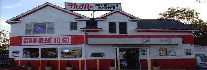 Thrifty Beverage Center in Riverhead, NY Banner ad