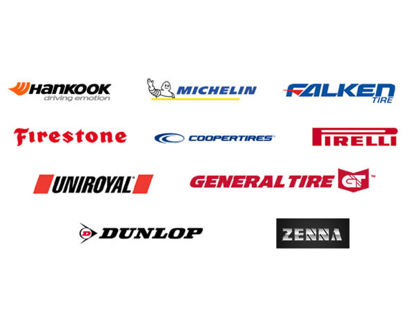 Thunder Tire & Service tire brands