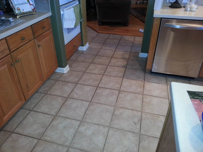 Your grout will appear like new after Harper Carpet Cleaning.