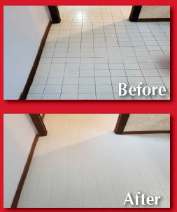 tile & grout cleaning & sealing Exclusive restoration sealer from The GroutSmith
