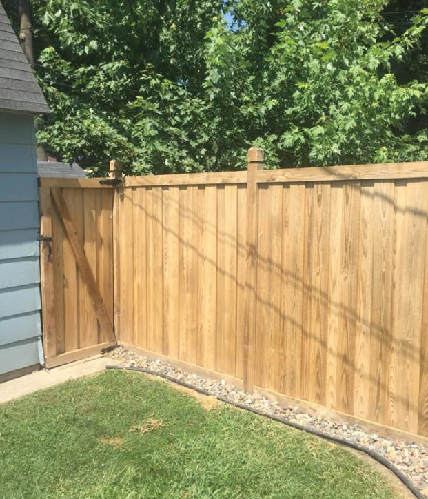 Fence cleaning and restoration by TimberGuard