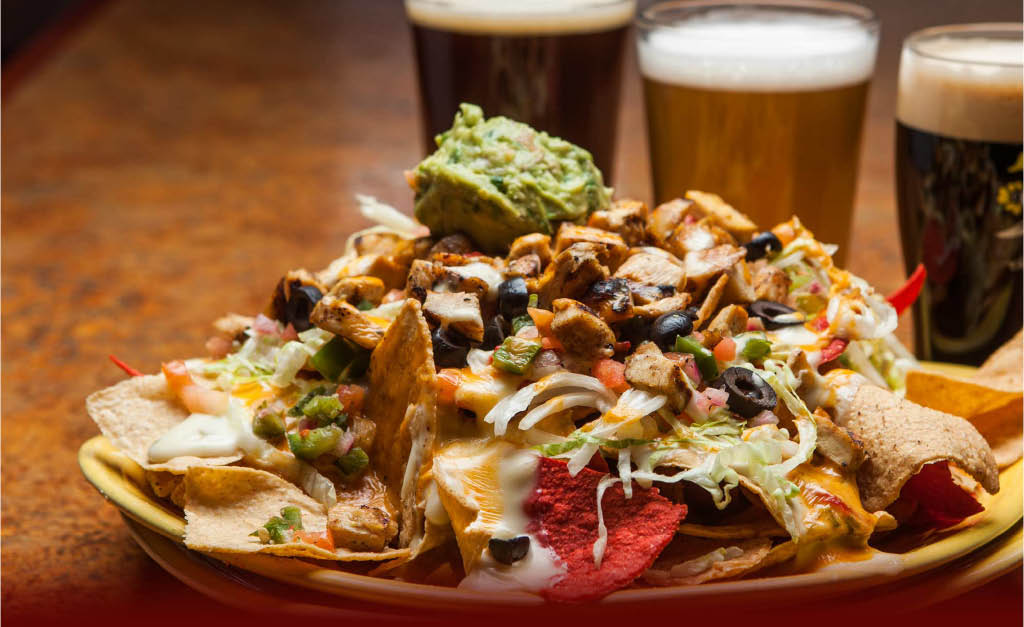 best nachos chester county, best appetizers chester county, best food and bar fare chester county, eclectic food chester county, new menu chester county