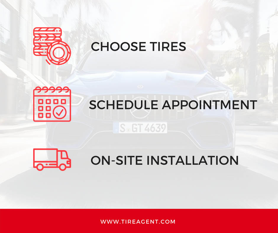 Three easy steps to buying tires without leaving your Queens, NY home