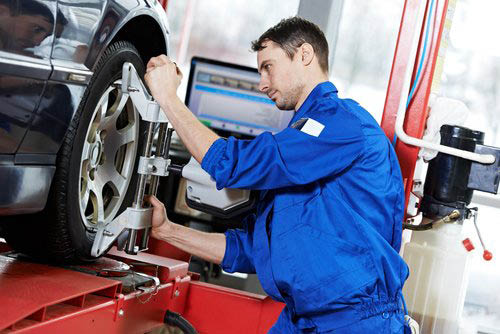 KIA OF COLUMBIA SERVICE DEPARTMENT TIRE ALIGNMENT PHOTO, COLUMBUS, OH