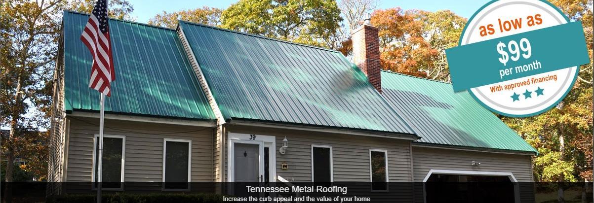 nessee Metal Roofing in Nashville, TN banner