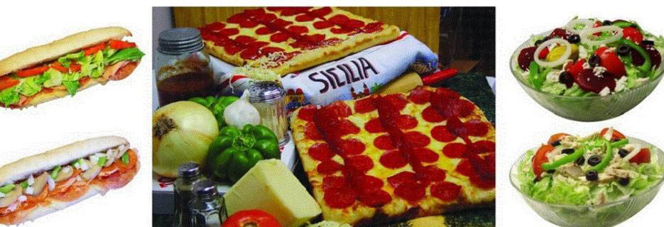 Pizza, subs and salads at Toarmina's in Taylor, MI