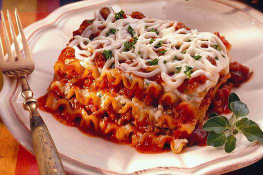 Organic lasagna dishes from Sporting Hill