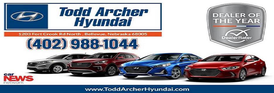 Todd Archer Hyundai in Bellevue, NE banner
