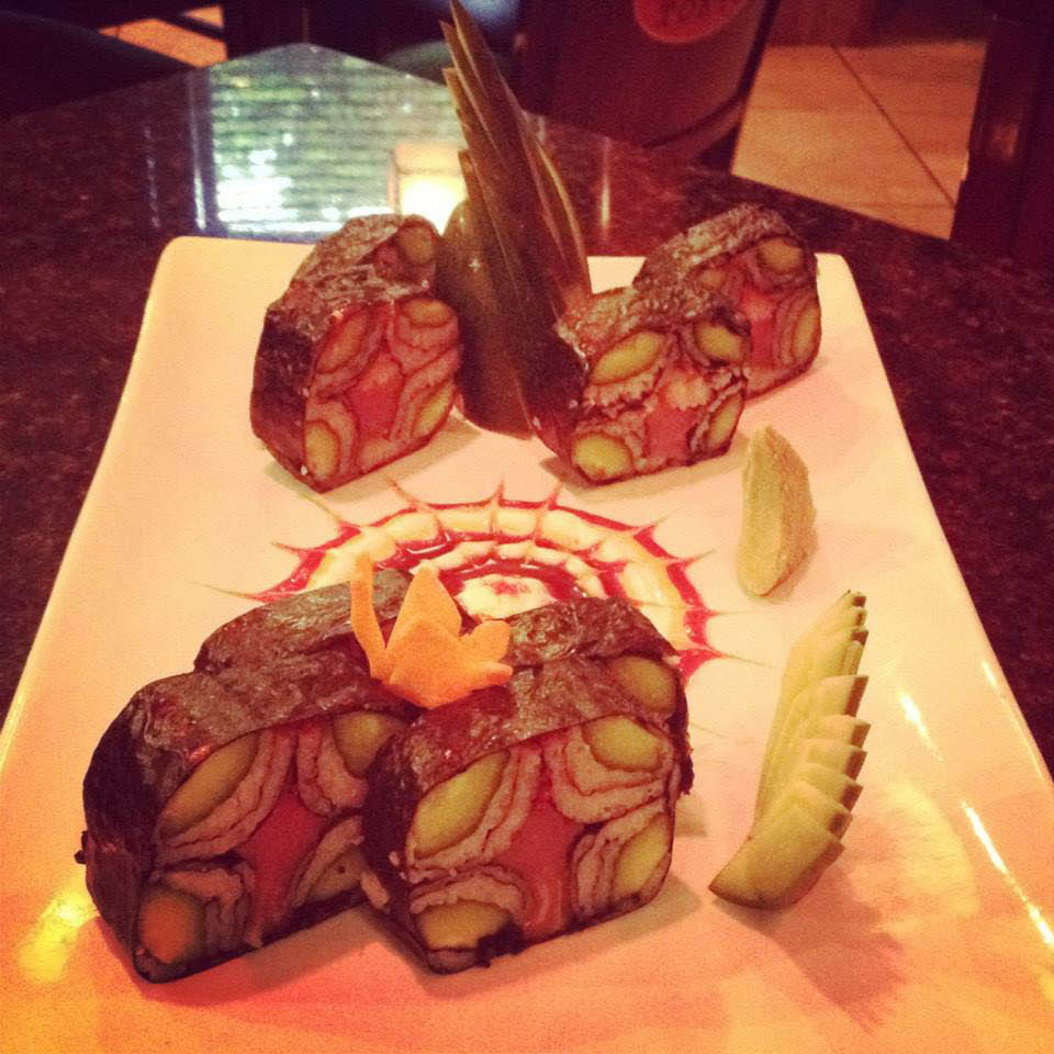 Another gorgeous sushi presentation in Ormond Beach, FL