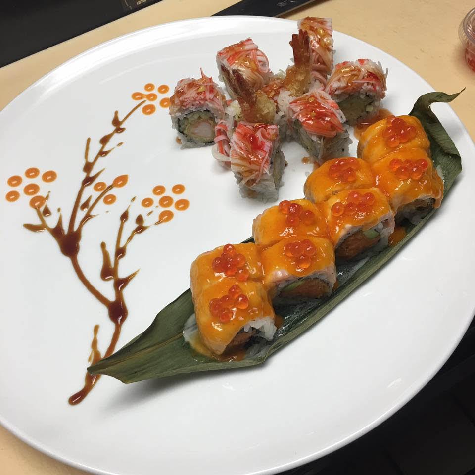 sushi; sashimi;