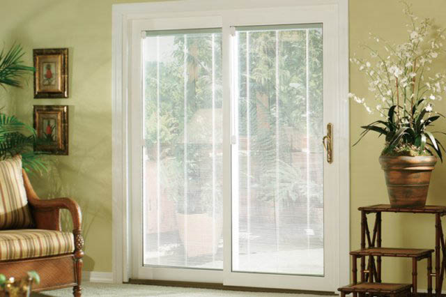 Living room windows from Toledo Door and Window in Toledo Ohio patio doors