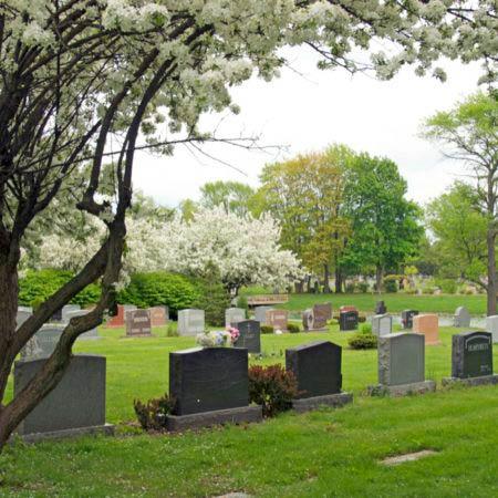 headstones memorial resting place