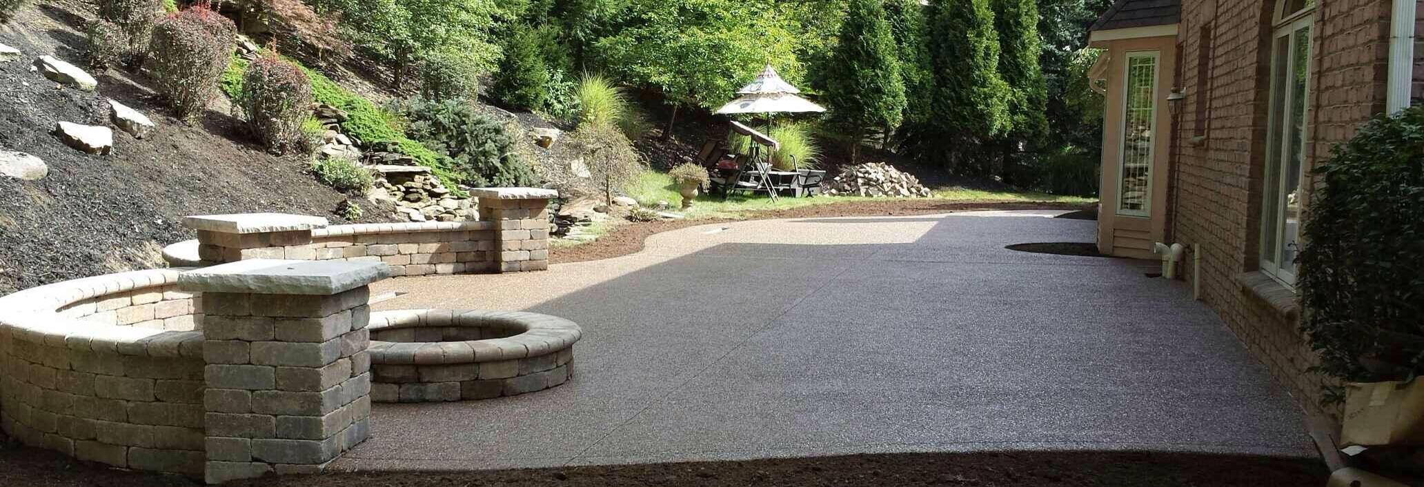 Retaining Walls Pavers & Concrete work Landscape Maintenance Hardscape  Construction