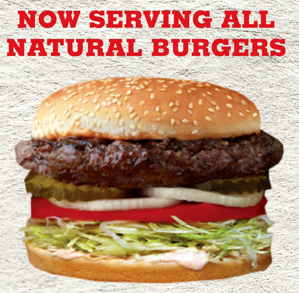 Try our fabulous 100% Natural, California, 1/3 lb. juicy beef burgers