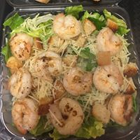 Add sauteed shrimp atop any of our salads