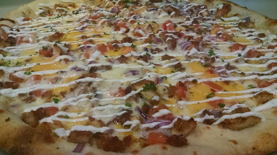 Spectacular Italian pizza from Tonino's Pizza, LI