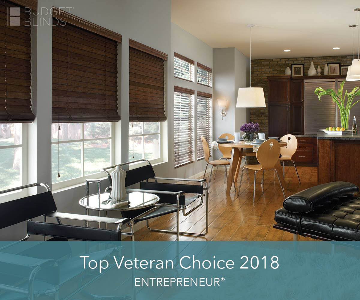 Wooden shades - a top veteran choice for 2018