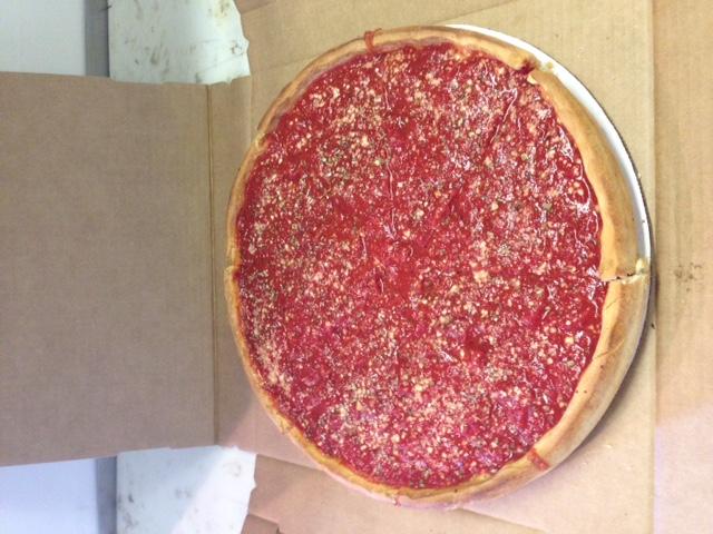 Chicago pizza deep dish pizza