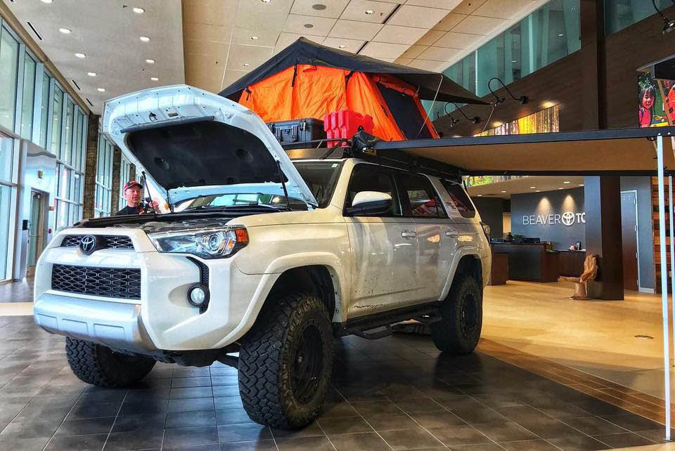 Toyota is synonymous with camping and family adventure treks