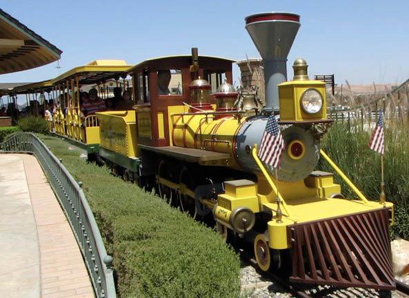 Ride the train at Tom's Farms in Corona, CA