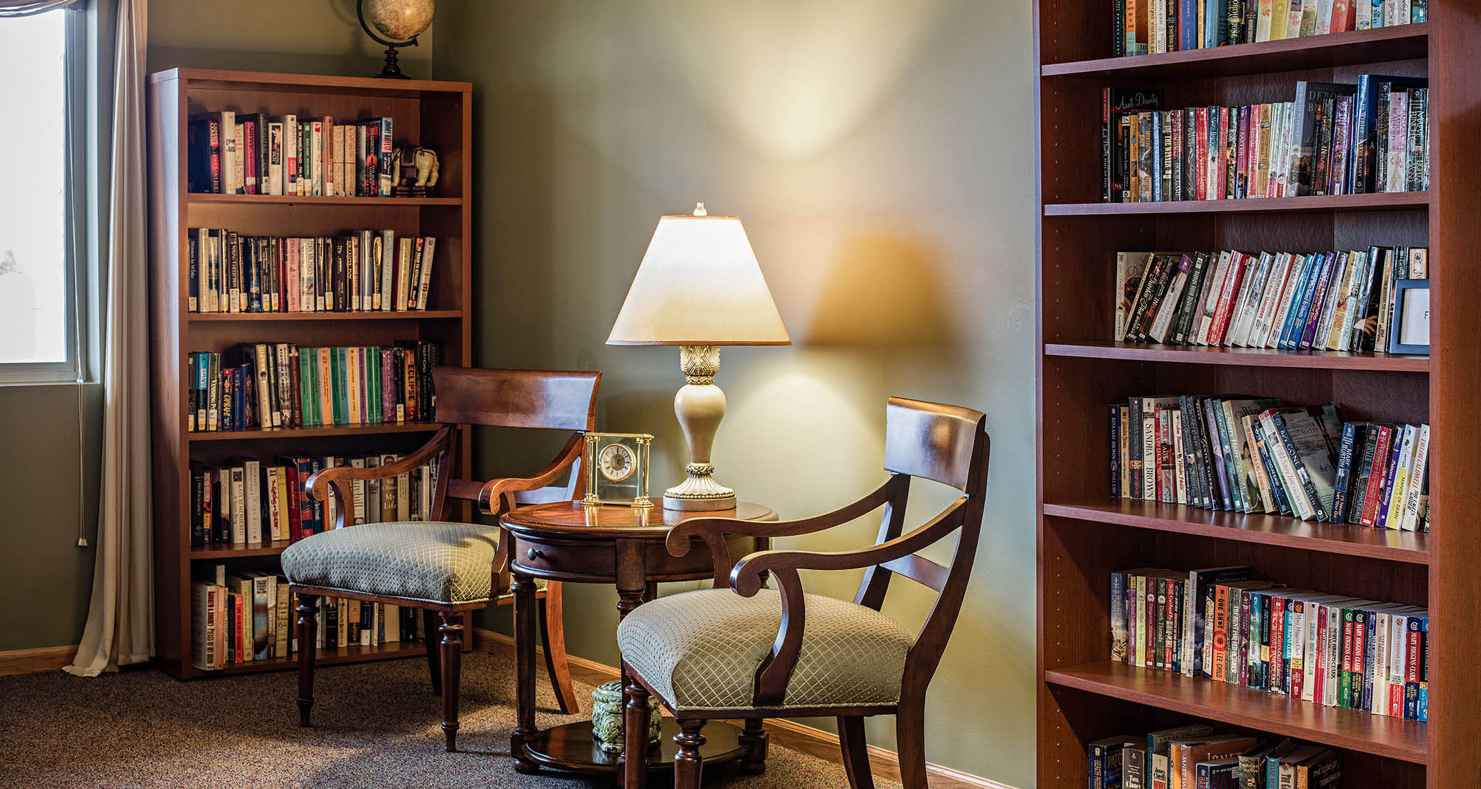 Study in assisted living center near Des Moines