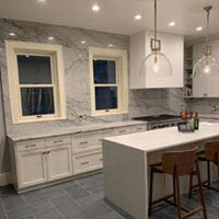 New kitchen cabinets and counter tops by Troy Granite near HArrisburg