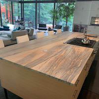New kitchen counter top installation in Pittsburgh
