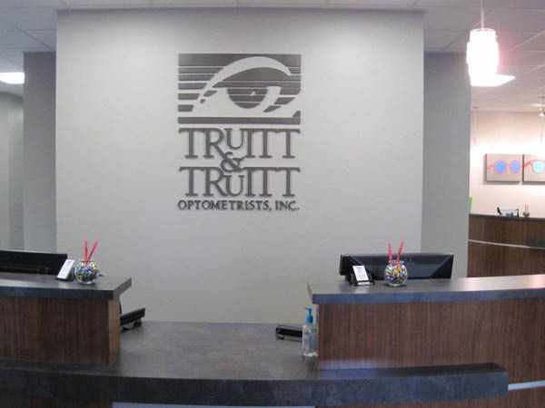 Truitt and Truitt Optometrists Inc. waiting area