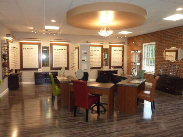 Truitt and Truitt Optometrists Inc. glasses showroom