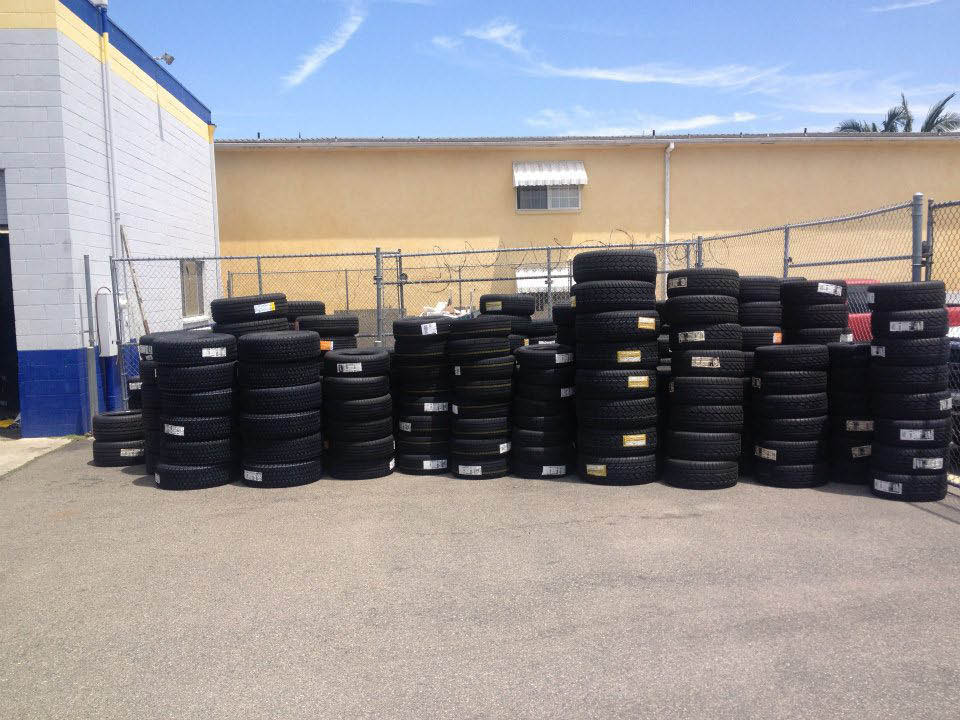 Trusted Tires Stanton, CA automotive store sells name brand tires