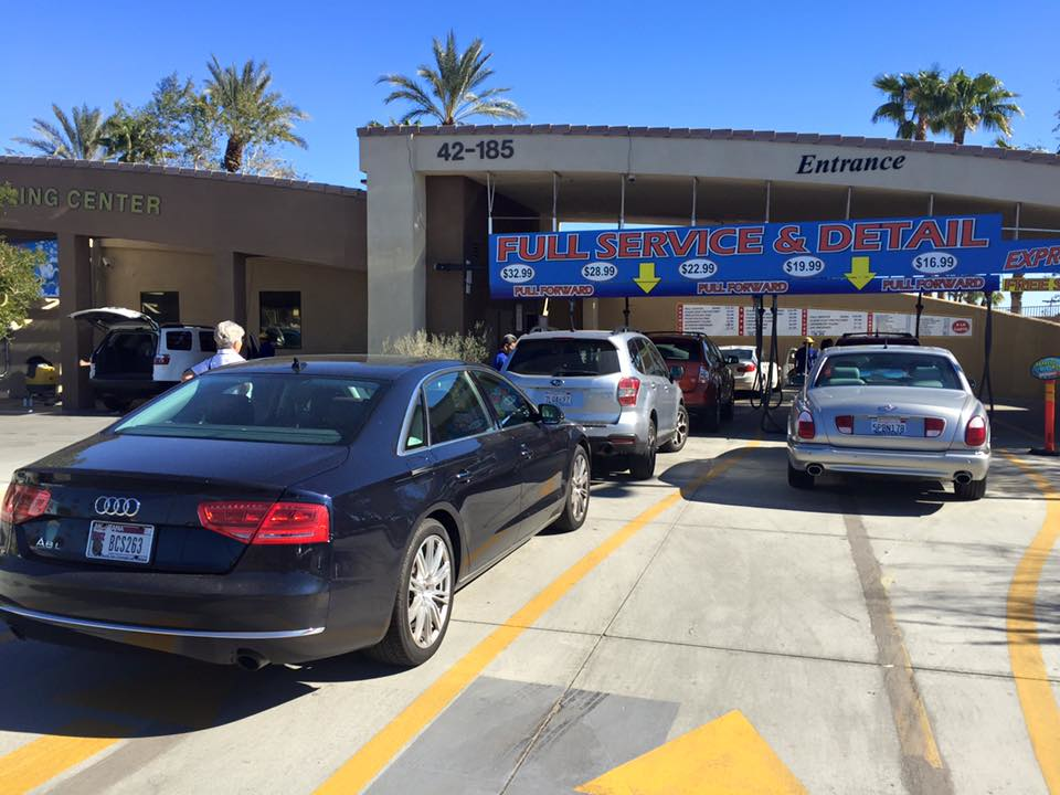 Car care, car wash near Indio