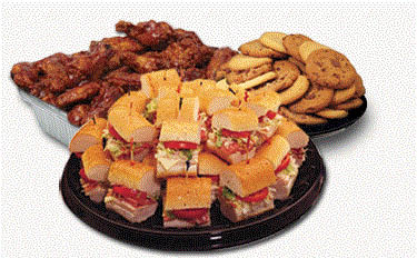 Picture of catering at Tubby's in Farmington, MI