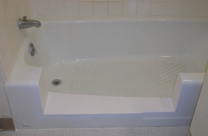 We'll convert your tub to the walk-in shower you want