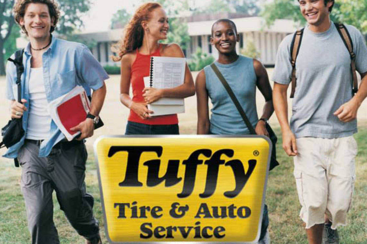 Tuffy auto service centers in Columbus, Ohio.