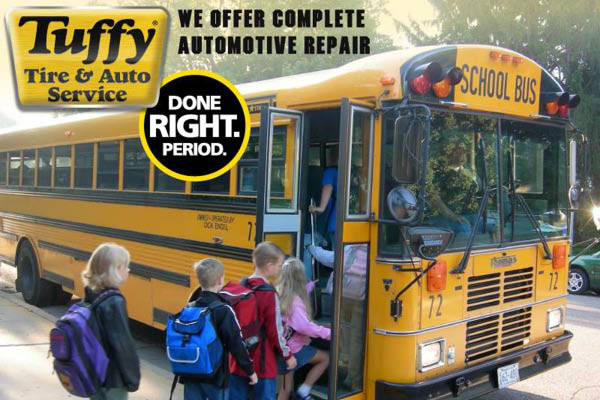 Tuffy back to school, fall and winter specials.