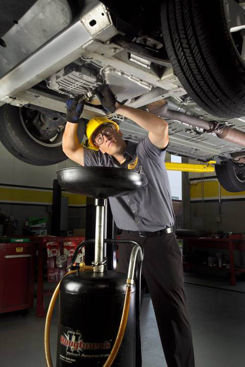 Stop in for an oil change and inspection at Tuffy.